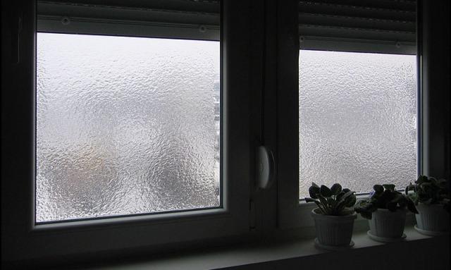 zamagljen prozor